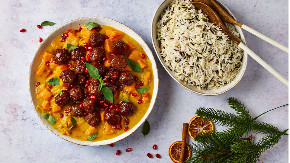 Meatless Christmas Curry