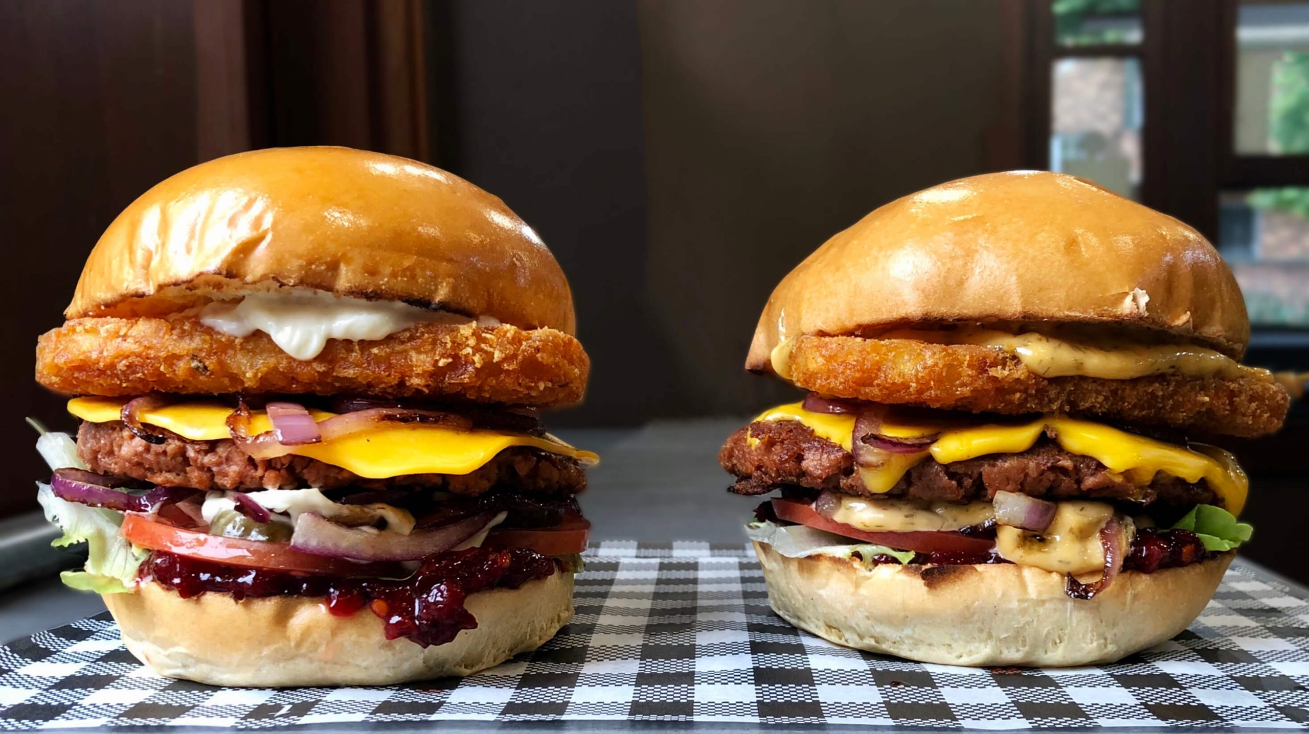 Meatless Farm's Burger of the Month at Suburgia, Sydney