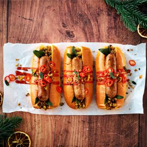 The Spicy Meatless Farm Hot Dog