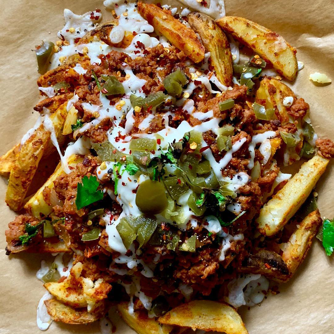 Meat Free Chili Cheese Fries Meatless Farm Usa