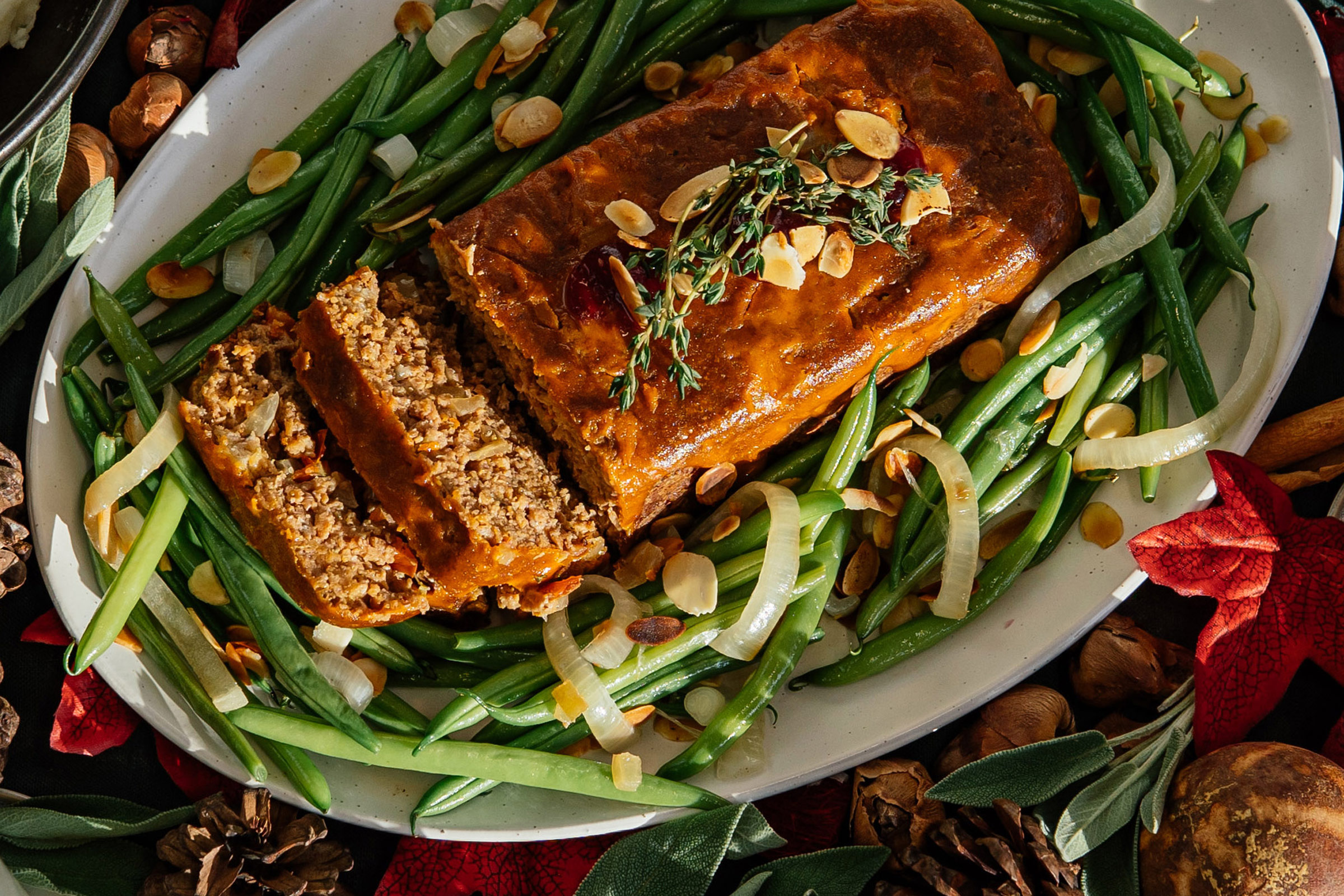 Meatless Farm Thanksgiving meat-free meatloaf