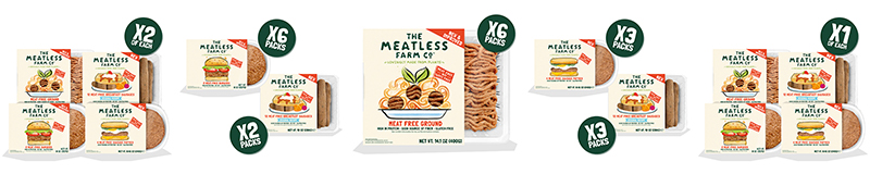 Meatless Farm Shop product lineup