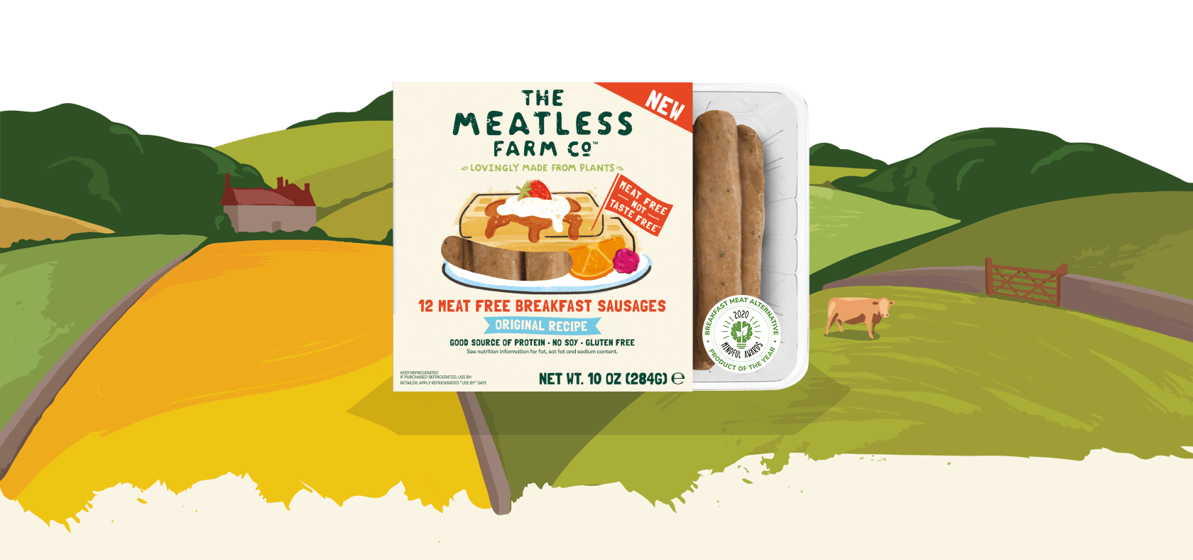 Meatless Farm Meat Free Breakfast Sausages
