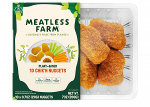 Plant Based Chik'n Nuggets by Meatless Farm