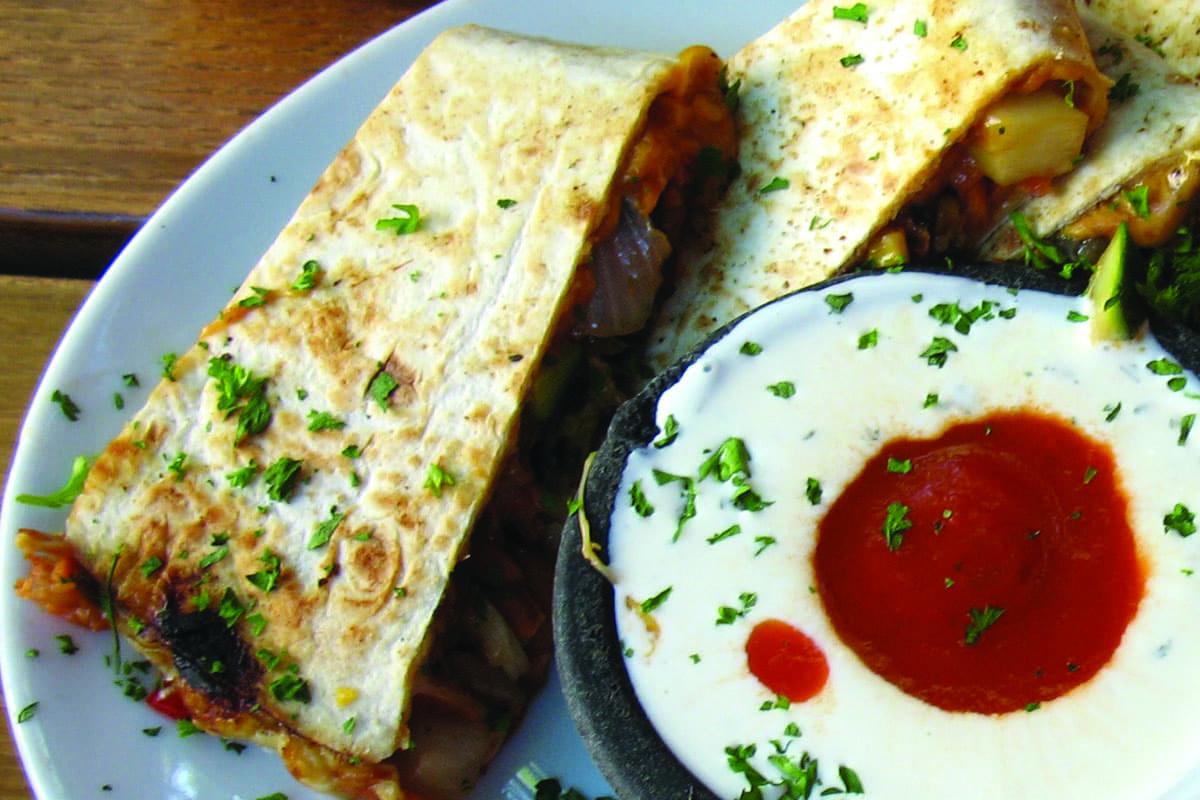 Meatless Quesadillas