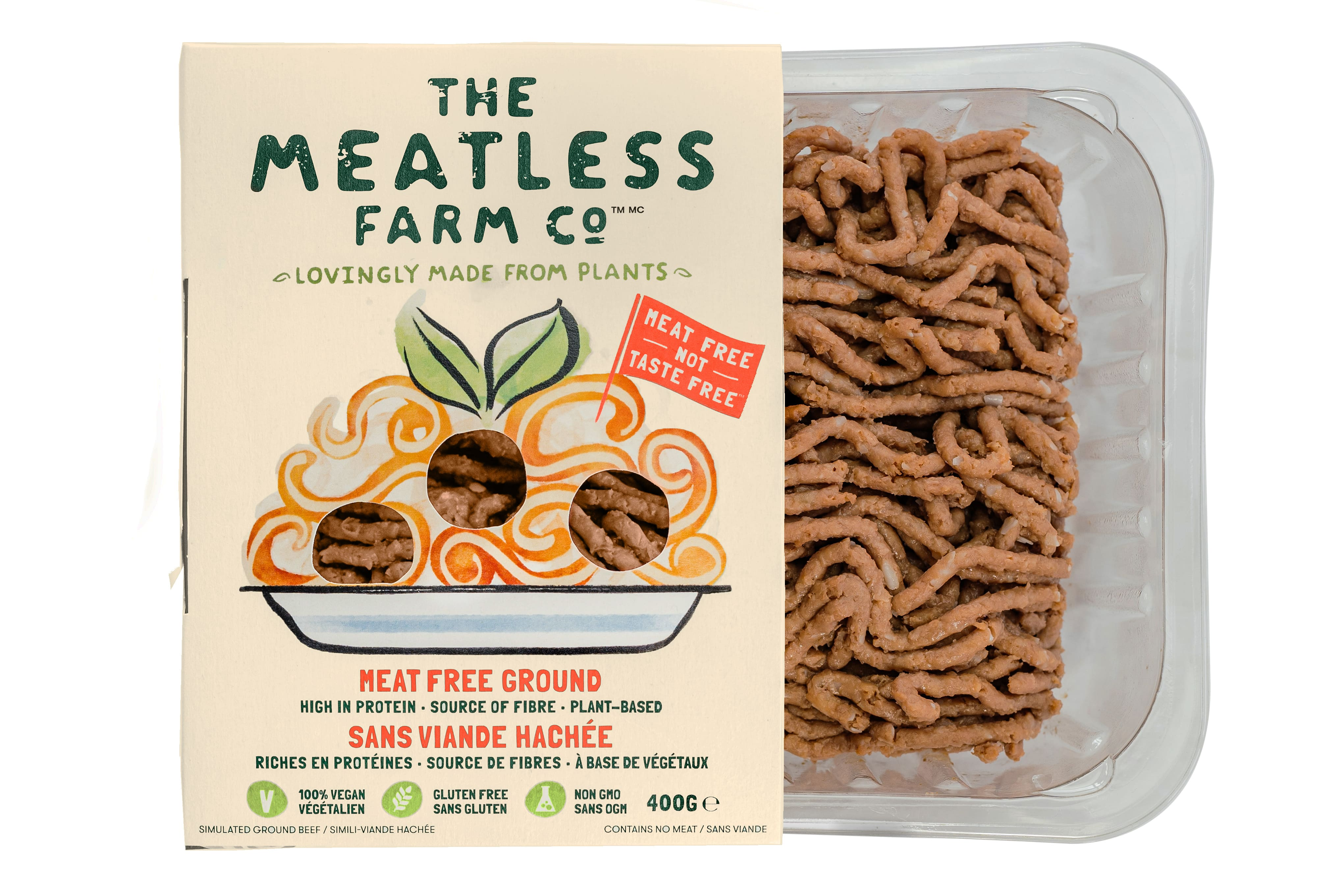 Pack of Canadian Meatless Farm ground