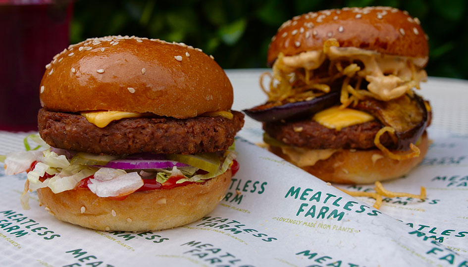Meatless Farm launches UK's first plant-based drive through