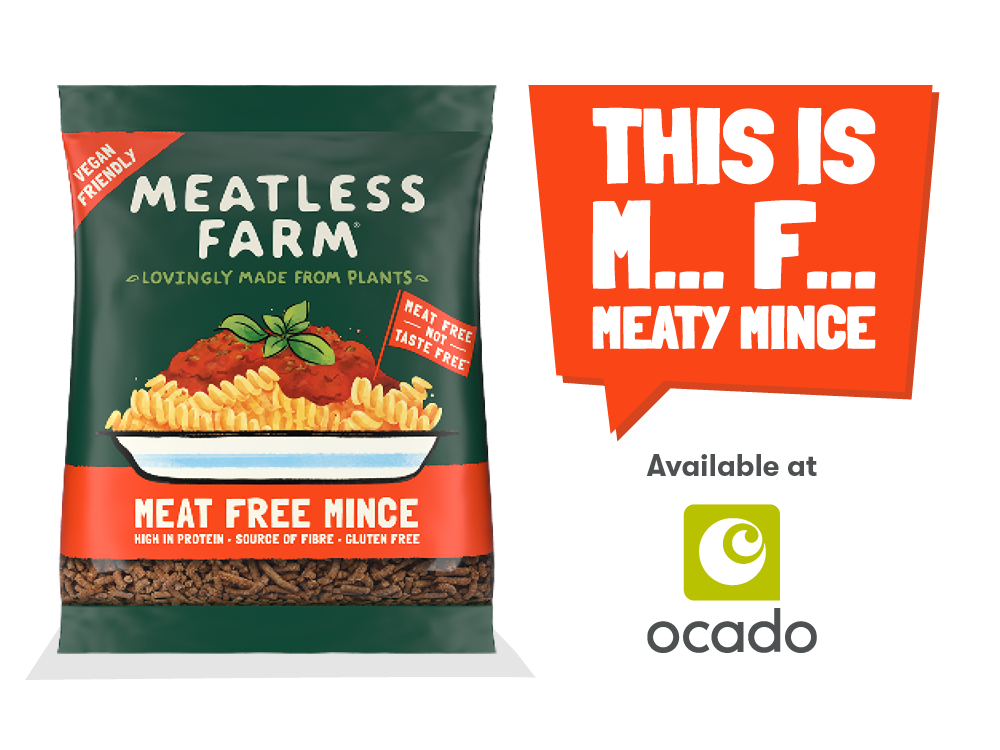 Meatless Farm Frozen Mince Ocado