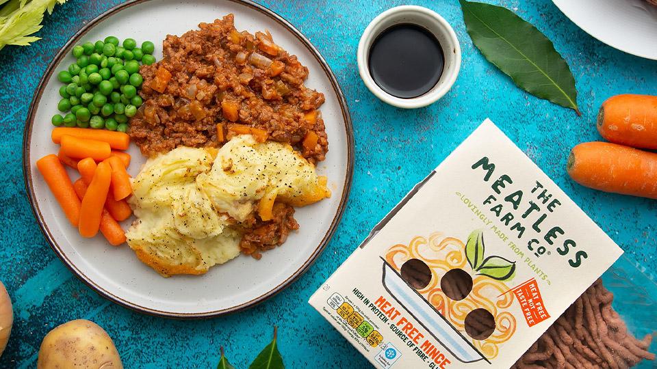 Meatless Farm meat free vegan cottage pie recipe