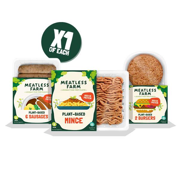 Mini Meatless Bundle - Meatless Farm Shop