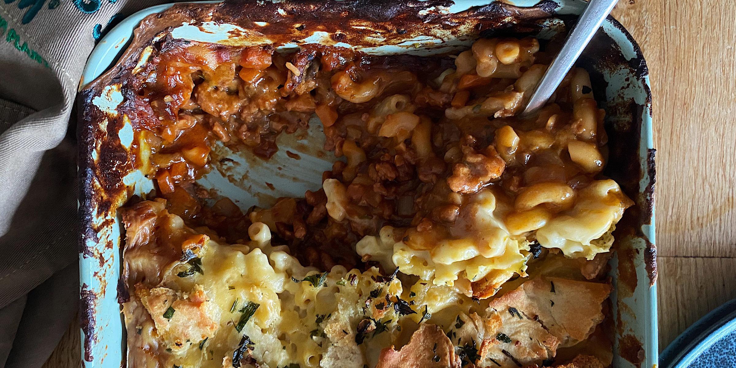 Meatless Farm Mac & Cheese Shepherd's Pie