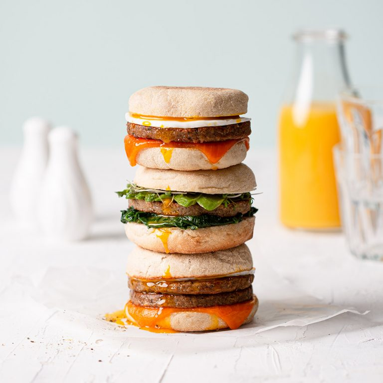 meatless-farm-sausage-patties-stack