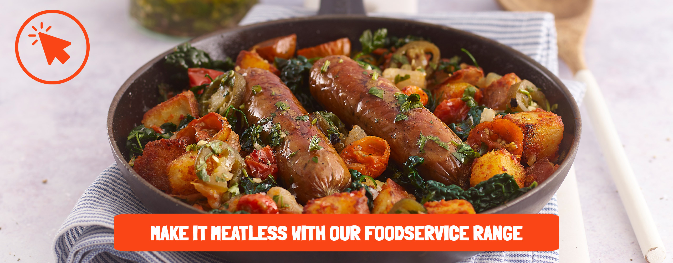 Meatless Farm Professionals Banner