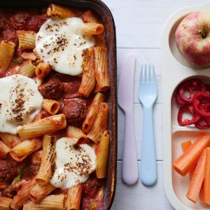 Omari Mcqueen's Cheesy Meatballs recipe for For Kids By Kids