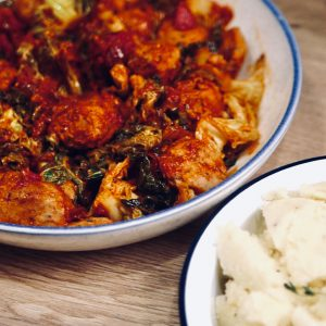 Omari Mcqueen's Sausage Casserole recipe for For Kids By Kids